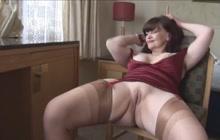 Busty Mature Tanya Teases